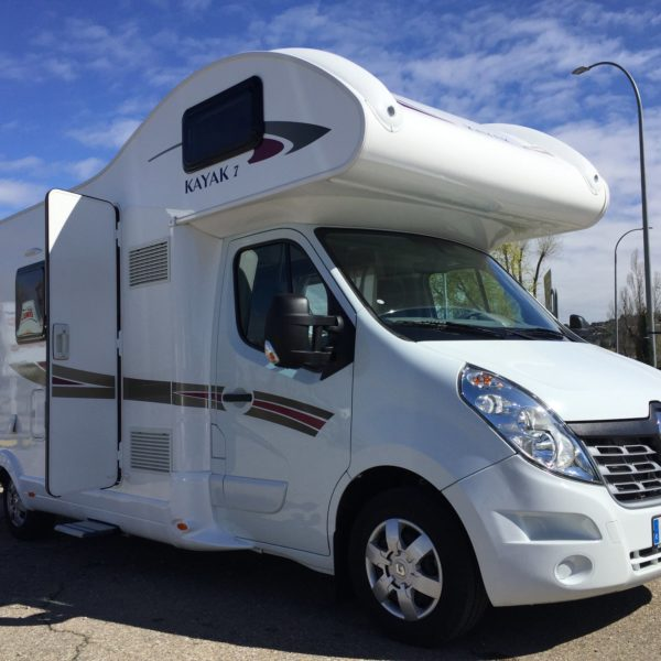 rent motorhome in Spain
