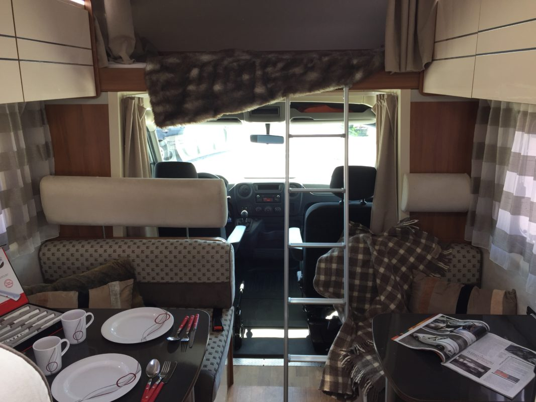 1. Acampa con tu caravana cómodamente