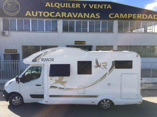 alquiler de motorhome en España