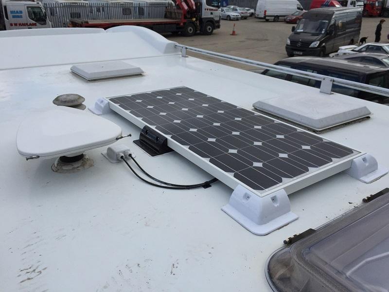 placa solar de caravana en Madrid