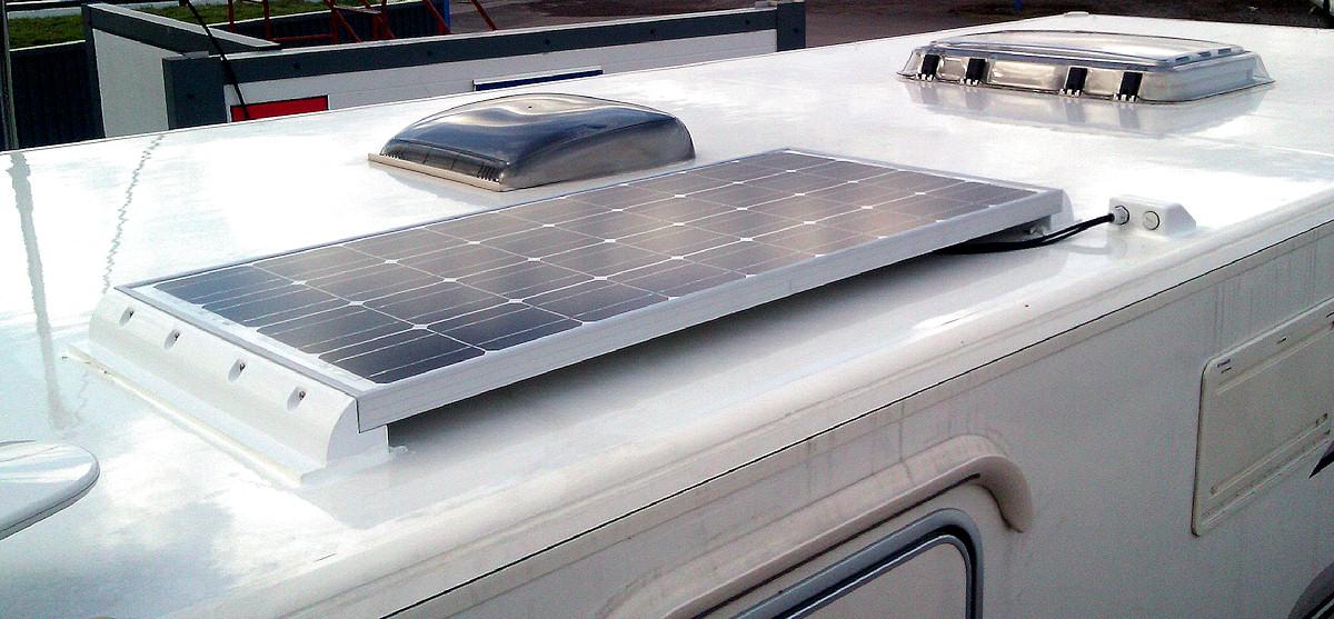 placa solar de autocaravana en Madrid