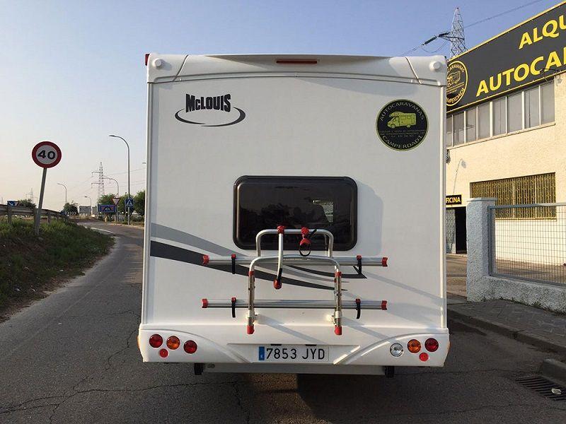 portabicis de caravana de Madrid
